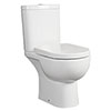 RAK Tonique Close Coupled Full Access Toilet (No Seat) profile small image view 1