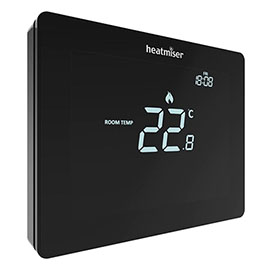 Heatmiser Touchscreen Thermostat - Heatmiser Touch Carbon