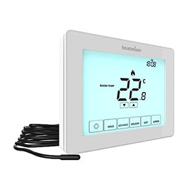 Heatmiser Touchscreen Electric Floor Heating Thermostat - Touch-e V2