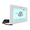 Heatmiser Touchscreen Electric Floor Heating Thermostat - Touch-e V2 profile small image view 1