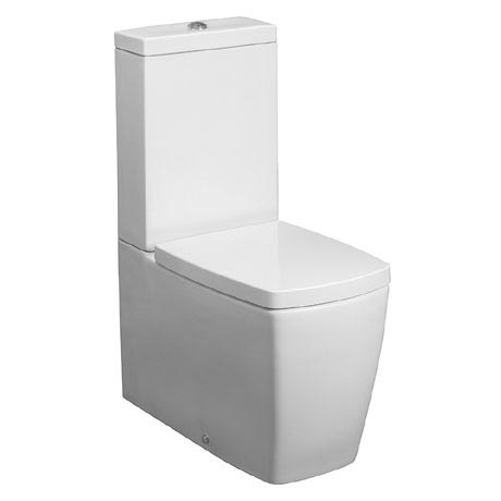 soft touch toilet seat. Bauhaus  Touch Close Coupled Toilet With Soft Seat At
