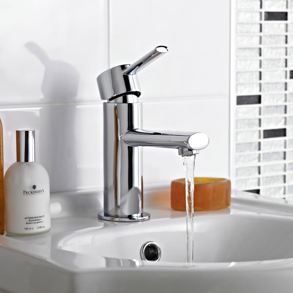 Premier - Paco Mono Basin Mixer Tap without waste - TPA305 profile large image view 2
