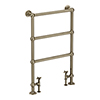 Hamilton Antique Bronze Traditional 949 x 598mm Floor Mounted Towel Rail profile small image view 1