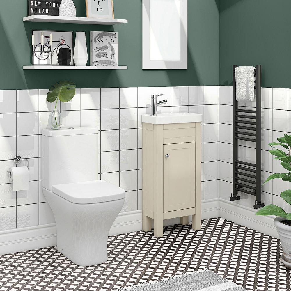 Trafalgar Cream Cloakroom Suite