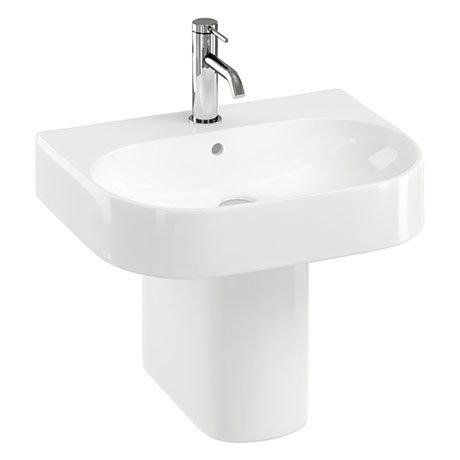 Britton Bathrooms Trim 500mm 1TH with Semi Pedestal