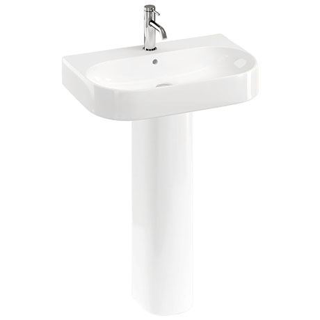 Britton Bathrooms Trim 600mm 1TH with Full Pedestal