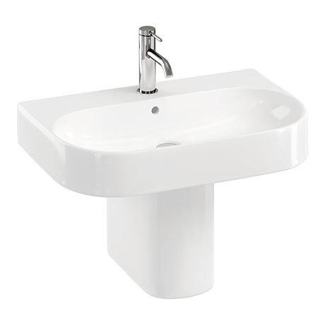 Britton Bathrooms Trim 600mm 1TH with Semi Pedestal