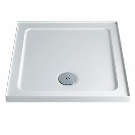 Twyford Square Shower Tray with Upstand 760 x 760mm