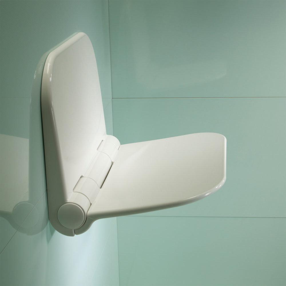 Roper Rhodes Detachable Shower Seat - TR7001 Large Image