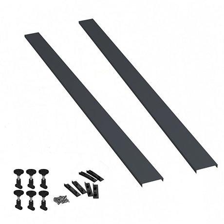 Slate Grey Leg Set & Plinth Kit (1000 Plinth x 2) - TR71A
