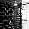 """Trafalgar Traditional Concealed Individual Stop Tap + Thermostatic Control Valve with 8"""" Shower Head profile small image view 1"""