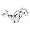 Chatsworth 1928 Traditional Crosshead Mono Basin Mixer Tap + Waste Small Image