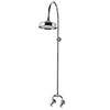 Keswick Traditional Exposed Manual Mixer Shower with Arching Shower Riser Kit profile small image view 1