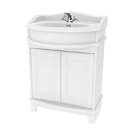 Miller - Traditional 1903 65 Two Door Vanity Unit with Ceramic Basin