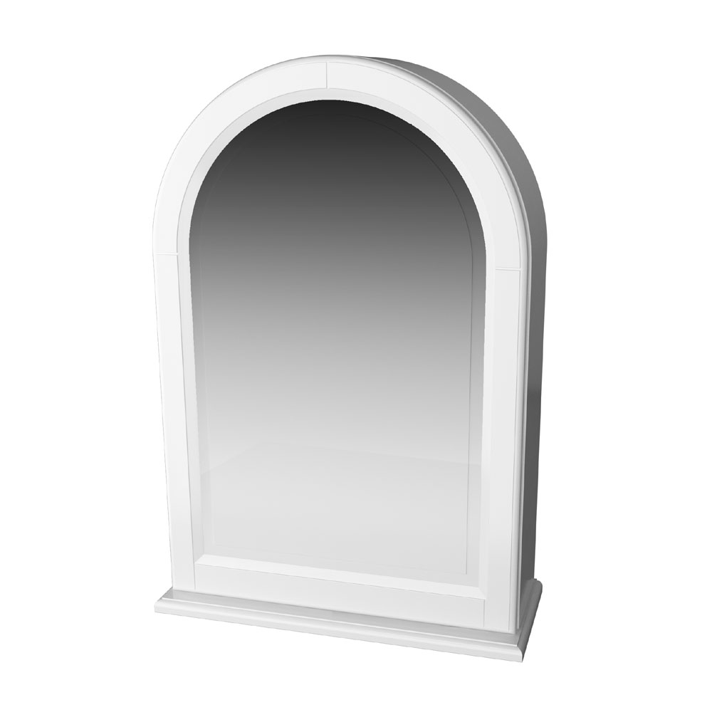 Miller - Traditional 1903 Arched Mirror Cabinet profile large image view 1