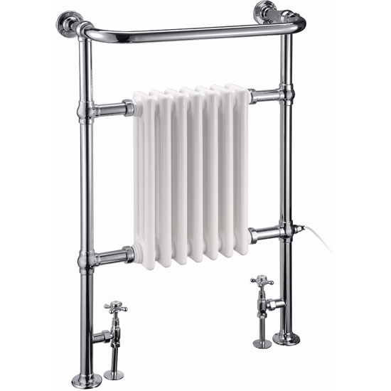 Burlington Full Trafalgar Radiator/Fittings and Electric Heating Kit Large Image