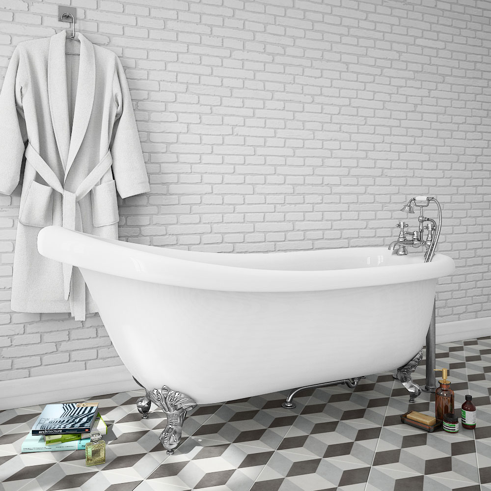 Oxford 1710 Roll Top Slipper Bath