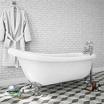 Trafalgar 1710 Roll Top Slipper Bath Medium Image