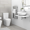 Toronto Cloakroom Suite profile small image view 1