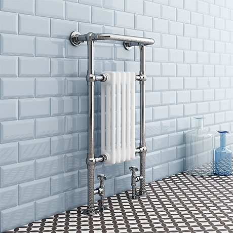 Danbury Traditional Heated Towel Rail Radiator