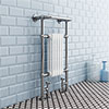 Danbury Traditional Heated Towel Rail Radiator profile small image view 1