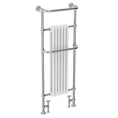 Dartford Traditional Floor Mounted Heated Towel Rail Radiator