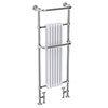 Dartford Traditional Floor Mounted Heated Towel Rail Radiator Medium Image