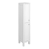 Trafalgar 1600mm White Tall Floor Standing Cabinet profile small image view 1
