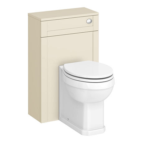 Trafalgar 500mm Cream Toilet Unit and Cistern