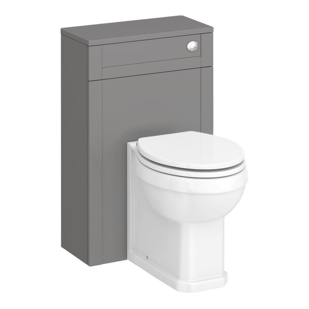 Trafalgar 500mm Grey Toilet Unit and Cistern