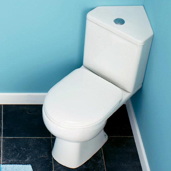 Tribune Dual Flush WC Pan   Corner Cistern Set at Victorian Plumbing UK. Tribune Dual Flush WC Pan   Corner Cistern Set at Victorian