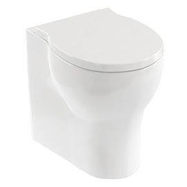 Britton Bathrooms Trim Back-to-Wall Pan + Soft Close Seat