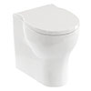 Britton Bathrooms Trim Back-to-Wall Pan + Soft Close Seat profile small image view 1