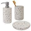 Turin Concrete Bathroom Accessories Set profile small image view 1