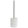 Turin Concrete Toilet Brush Holder profile small image view 1