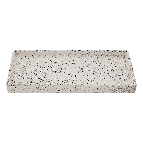 Turin Concrete Rectangular Bathroom Accessories Tray