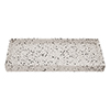 Turin Concrete Rectangular Bathroom Accessories Tray profile small image view 1