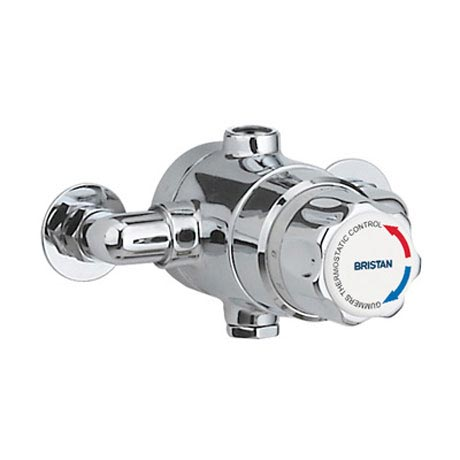 Bristan - Gummers 15mm Thermostatic Exposed Mixing Valve (no shut-off) - TS1503ECP-2000-MK Large Ima