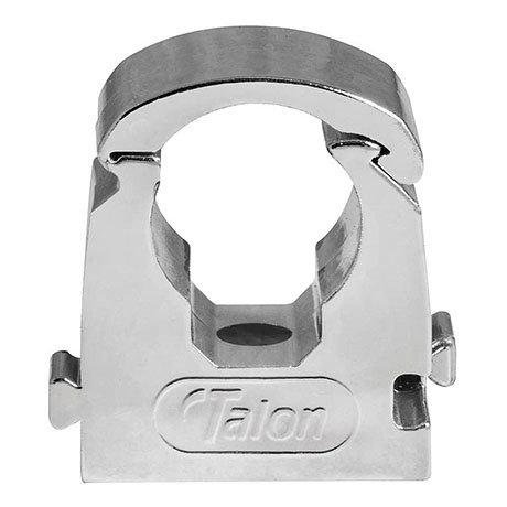 Talon 15mm Chrome Effect Hinged Clip - Bag of 10 - TS15CP/10