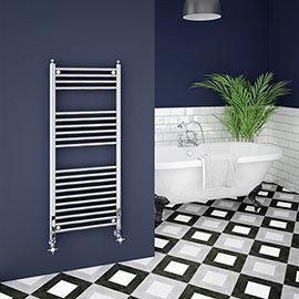 Trafalgar W500 x H1200mm Traditional Heated Ladder Towel Rail - Straight
