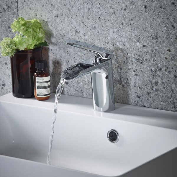 Tavistock Solace Basin Mixer with Click Waste - TSA11 profile large image view 2