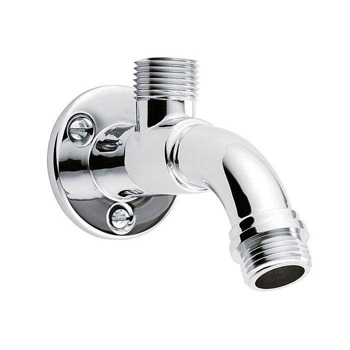 Triton 90mm Wall Mounted Top Entry Shower Arm - TSARM90TOP Large Image