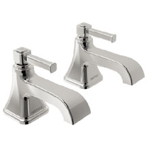 Heritage Somersby Basin Pillar Taps - TSBC00 Medium Image
