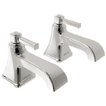 Heritage Somersby Bath Pillar Taps - TSBC01 Medium Image