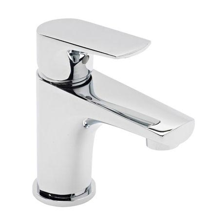 Tavistock Strike Mini Basin Mixer with Click Waste - TSE61