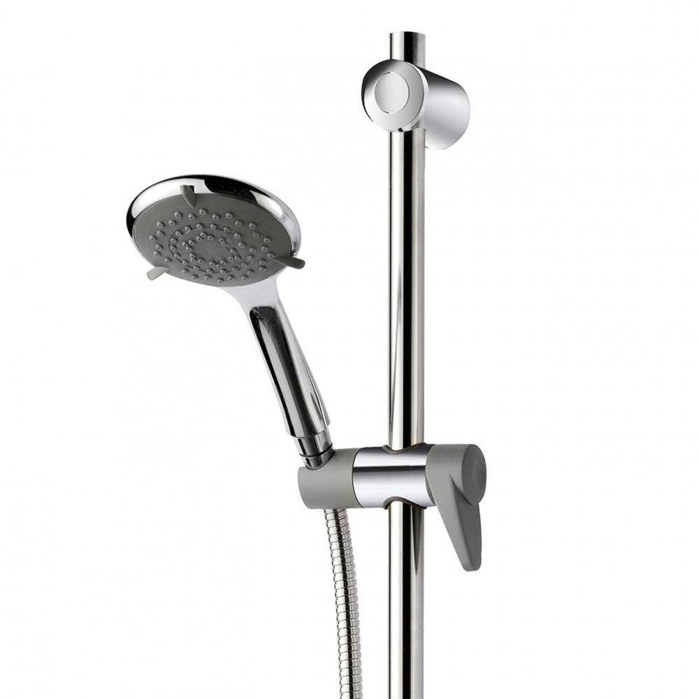 Triton Inclusive Extended Shower Kit - Chrome/Grey - TSKCARESTDCHR profile large image view 3