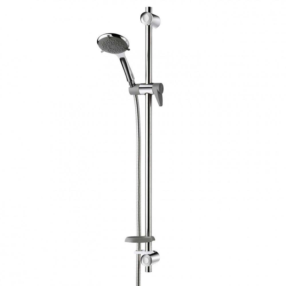Triton Inclusive Extended Shower Kit - Chrome/Grey - TSKCARESTDCHR Large Image