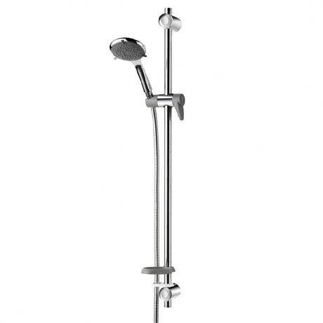 Triton Inclusive Extended Shower Kit - Chrome/Grey - TSKCARESTDCHR