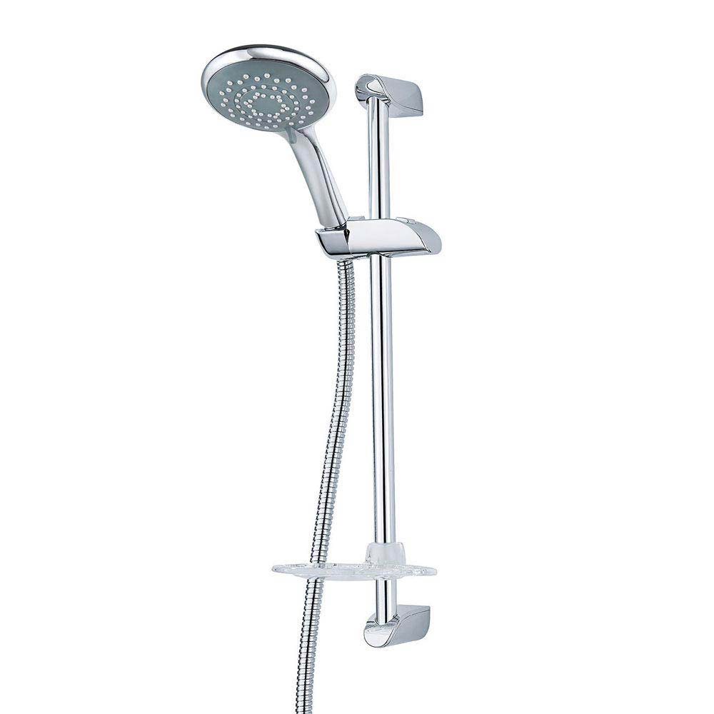 Triton Leon and 8000 Series Shower Kit - Chrome - TSKFLEO8000CH Large Image