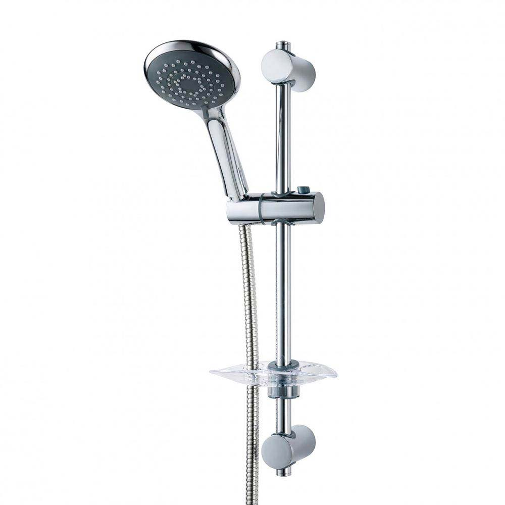 Triton Lewis and 8000 Series Shower Kit - Chrome - TSKFLEW8000CH Large Image